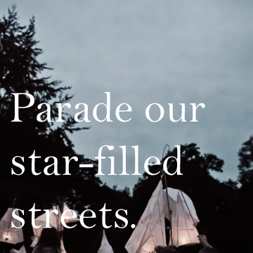paradeourstarfilledstreets